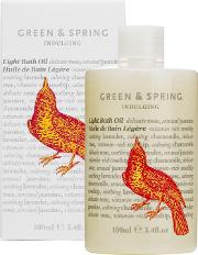 Li , Green & Spring Indulging Ght Bath Oil 100ml