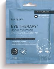 Co , Beautypro Eye Therapy Llagen Under Eye Mask With Green Tea Extract 3 X 3.5g