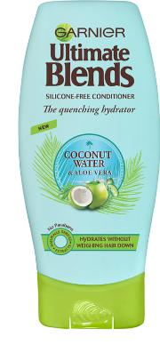 Blend , Garnier Ultimate S Coconut Water & Aloe Vera Conditioner 200ml