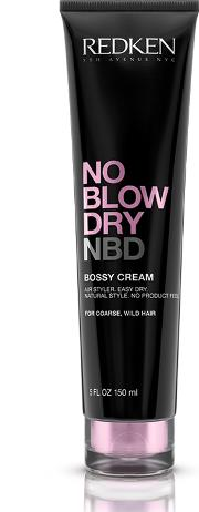 Blow , Redken No  Dry Bossy Cream Coarse Hair 150ml