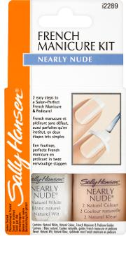 Sally  French Manicure Kit - Nearly Nude
