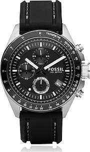 Fossil ,  Decker Stainless Steel Men's Chronograph Watch