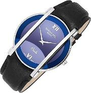Raymond Weil ,  Othello - Men's Stainless Steel And Leather Watch