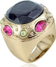 Az Collection ,  Large Crystal Stone Ring