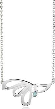 Sho London ,  Sterling Silver Mari Splash Necklace