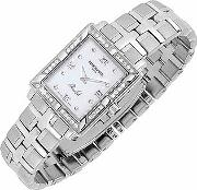 Raymond Weil ,  Parsifal - Ladies' Diamond Frame Mother Of Pearl Date Watch