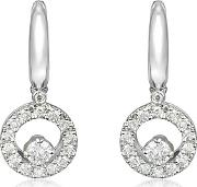 Incanto Royale ,  0.7 Ctw Diamond 18k Gold Earrings