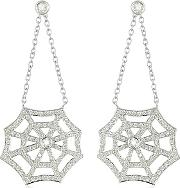 Incanto Royale ,  0.76 Ctw Diamond 18k Gold Earrings