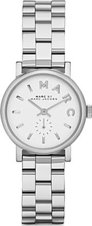 Marc By Marc Jacobs ,  Baker 28 Mm Silver Tone Stainless Steel Women's Watch