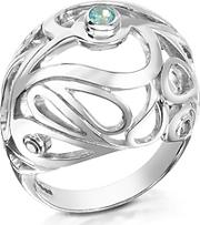 Sho London ,  Sterling Silver Mari Splash Boule Ring
