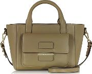 Tila March ,  Alice Sahara Leather Small Tote Bag