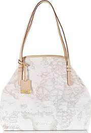 Alviero Martini 1a Classe ,  Geo Printed Large 'new Basic' Shoulder Bag