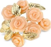 Az Collection ,  Pink Roses Gold Plated Brooch