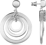 Az Collection ,  Silver-plated Drop Earrings