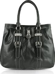 Buti ,  Large Grained Leather Tote Bag