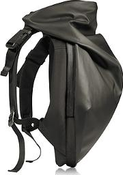 C Te & Ciel ,  Nile Obsidian Black Polyester Backpack
