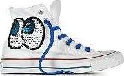 Converse Limited Edition ,  Chuck Taylor All Star Hi White Tropical Canvas Ltd Sneakers