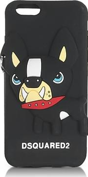 Dsquared2 ,  Black Silicone Iphone 6 Cover Wdog
