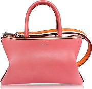 Emilio Pucci ,  Pink Smooth Leather Satchel Bag