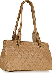 Fontanelli ,  Quilted Leather Satchel Bag