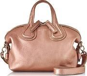 Givenchy ,  Nightingale Micro Light Pink Leather Satchel Bag