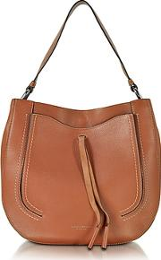 Marc Jacobs ,  Maverick Cognac Leather Hobo Bag