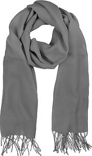 Mila Schon ,  Gray Wool And Cashmere Stole