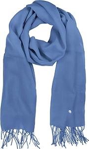 Mila Schon ,  Light Blue Wool And Cashmere Stole