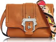 Paula Cademartori ,  Gigi Cognac Leather Crossbody