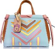 Paula Cademartori ,  Linda Multicolor Leather Shoulder Bag