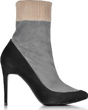 Pierre Hardy ,  Fusion Multicolor Suede Ankle Boot