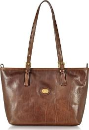 The Bridge ,  Brown Leather Tote