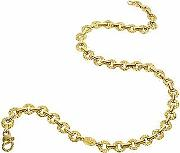 Torrini ,  Etrusca - 18k Yellow Gold Small Chiselled Chain