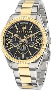 Maserati ,  Competizione Two Tone Stainless Steel Men's Watch