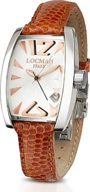 Locman ,  Panorama Mother-of-pearl Dial Dress Watch