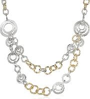 Az Collection ,  Crystal Chain Opera Necklace
