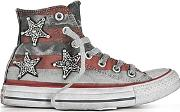 Converse Limited Edition ,  Chuck Taylor All Star Jewels Stars And Bars Canvas Ltd Sneakers