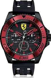 Ferrari ,  Xx Kers Black And Red Stainless Steel Men's Watch