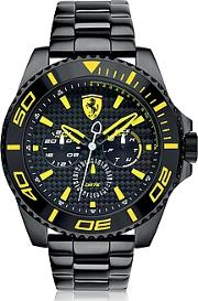 Ferrari ,  Xx Kers Black And Yellow Stainless Steel Men's Watch