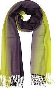 Mila Schon ,  Cashmere And Wool Fringed Stole