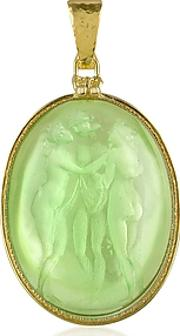 Tagliamonte ,  Three Graces - 18k Gold Mother Of Pearl Cameo Pendant