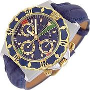 Julius Legend ,  Ulysses Diver - Gold And Stainless Steel Chronograph