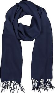 Mila Schon ,  Midnight Blue Wool And Cashmere Stole
