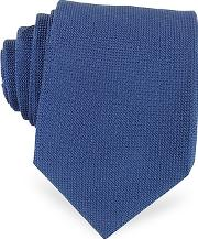 Forzieri ,  Solid Woven Silk Tie