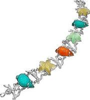 Tagliamonte ,  Marina Collection - Multicolor 18k Gold Bracelet