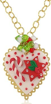 Dolci Gioie ,  Christmas Heart Necklace