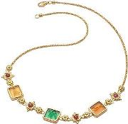 Tagliamonte ,  Classic Collection - 18k Gold And Ruby Necklace