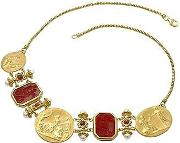 Tagliamonte ,  Classics Collection - 18k Gold And Ruby Necklace