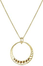 Sho London ,  Silver Vermeil Pendant Necklace