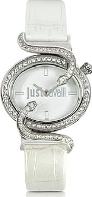 Just Cavalli ,  Sin 2h Silver Tone Dial Women's Watch